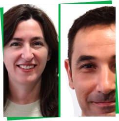 María José Moñino y Antonio Vivas Cicytex